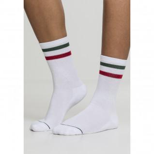 Pack of 2 Urban Classic 3-Stripes Socks