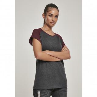 T-shirt woman Urban Classic raglan contract