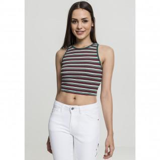 Crop top woman Urban Classic Stripe