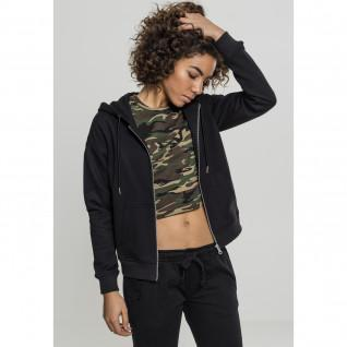 Sweatshirt woman Urban Classic claic zip