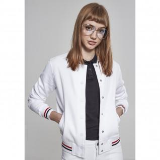 Jacket woman Urban Classic 3-tone college sweater