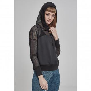 Sweatshirt woman Urban Classic Mesh