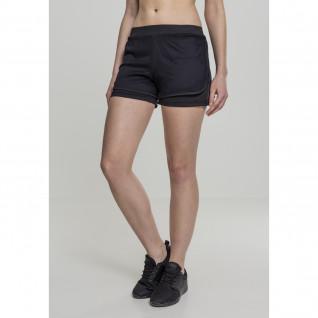 Women's Urban Classic double layer mesh shorts