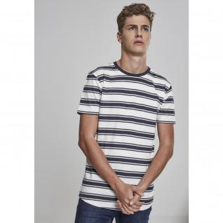 Urban Classic double Stripe long shaped T-shirt