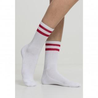 Pack of 2 Urban Classic stripe socks