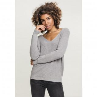 Sweatshirt woman Urban Classic back lace up GT