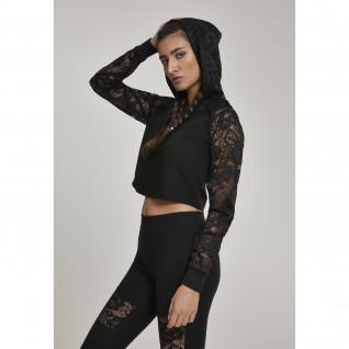 Sweatshirt woman Urban Classic lace