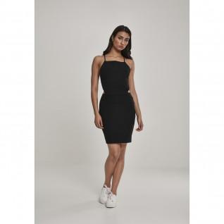 Urban Classic women's dress paghetti pique [Size XS]