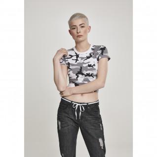 Woman's Urban Classic t-shirt melange stretch
