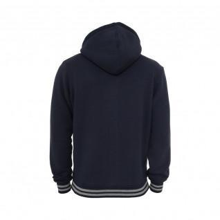 Urban Classic hooded college sweat jacket