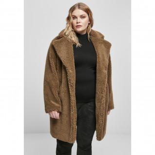 Jacket woman Urban Classics oversized sherpa (large sizes)