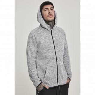 Sweatshirt Urban Classic knit fleece zip