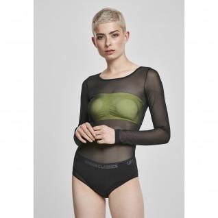 Women's Urban Classic mesh XXL bodystocking [Size XXL]