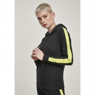 Sweatshirt woman Urban Classic neon Stripe XXL [Size XXL]