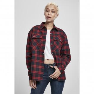 Woman's shirt Urban Classics oversized over