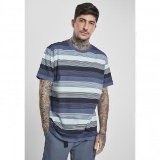 T-shirt Urban Classics yarn dyed sunrise stripe (grandes tailles)