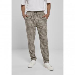 Urban Classics tapered check jogger pants