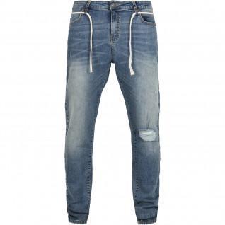 Urban Classics Slim Jeans with drawstring