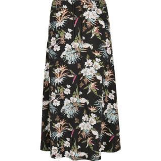 Urban Classics women's viscose midi skirt