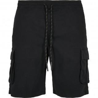 Urban Classics drawstring cargo shorts-large sizes