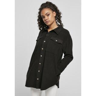 Women's corduroy long shirt Urban Classics (GT)