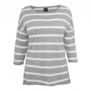 T-shirt woman Urban Classic loose Striped