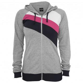 Sweatshirt woman Urban Classic 3 color zipper