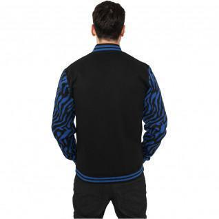 Urban Classic 2-tone zebra college jacket