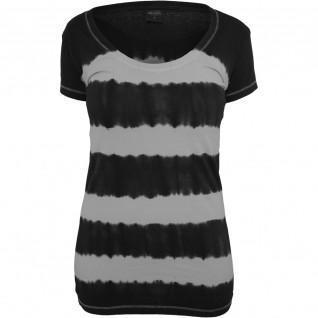 Woman's Urban Classic dip Stripe T-shirt