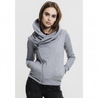Jacket woman Urban Classic aymetric zip