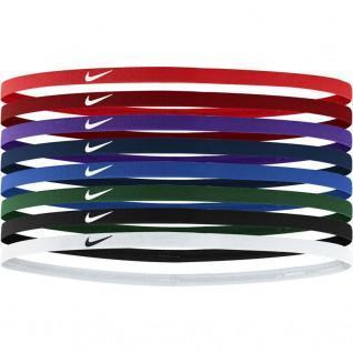 Pack of 8 Nike skinny hair bands