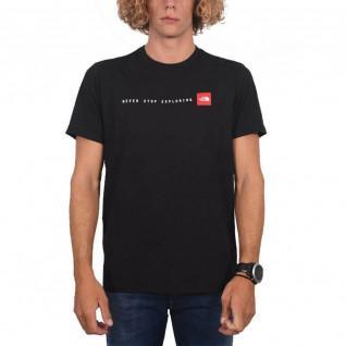 """Classic The North Face """"Never Stop Exploring"""" T-shirt."""