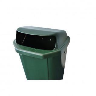 Green wastebasket - Carrington