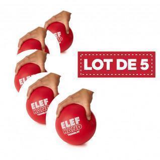 Lot 5 foam balls Tremblay eleph'hand