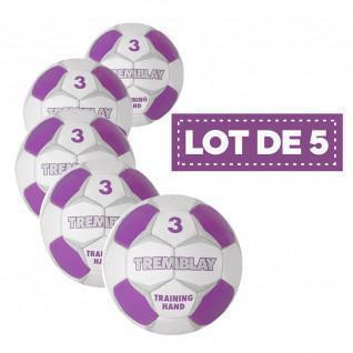 Lot 5 Tremblay training hand ball