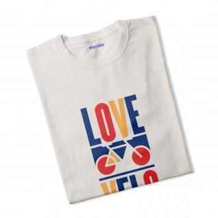 T-shirt woman Love bike