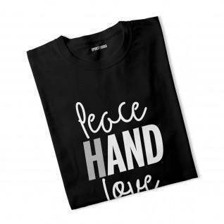 T-Shirt Peace Love Hand