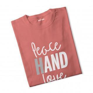 T-shirt femme Peace Hand Love [Size S]