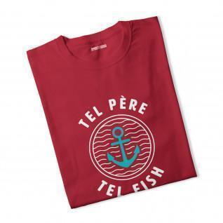 T-shirt boy Tel Father Tel Fish