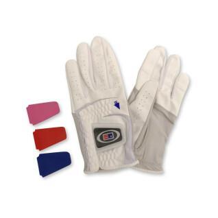 Leather gloves right-handed child U.S Kids Golf cabretta