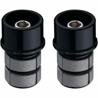 Mounting adapters with expanders for brake levers Vision alu
