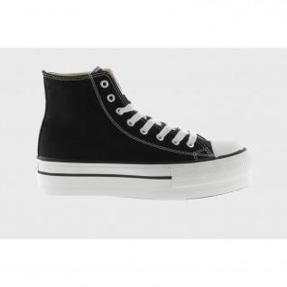 Victoria tribe double canvas high top shoes