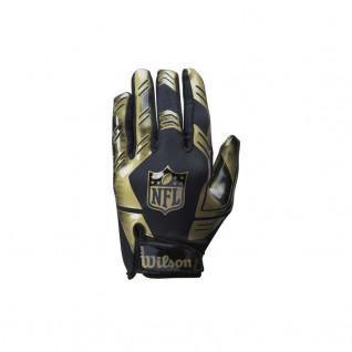 American football gloves Wilson NFL Stretch