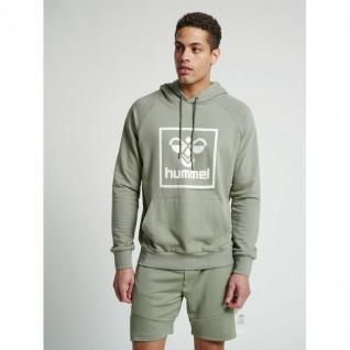 Hooded sweatshirt with Hummel pocket