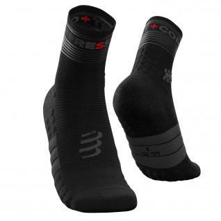 Fluorescent socks Compressport Pro Racing